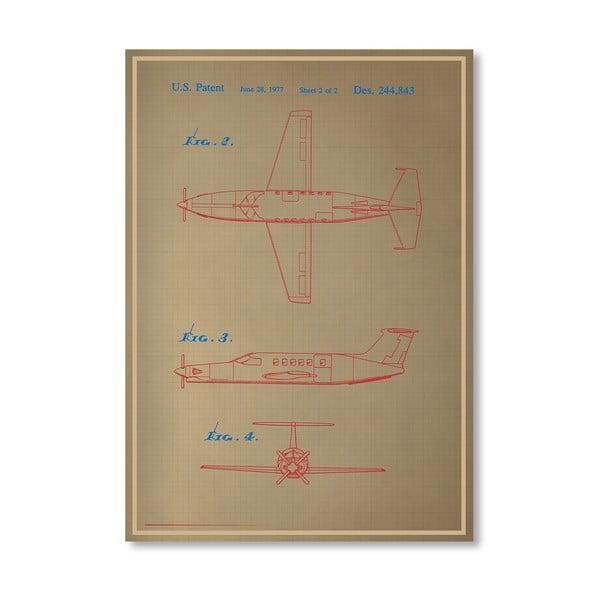 Plakat Airplane III, 30x42 cm