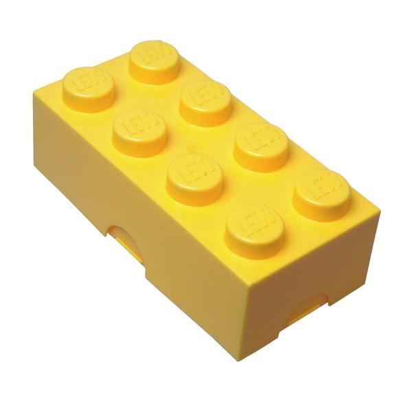 Żółty pojemnik na śniadanie LEGO®