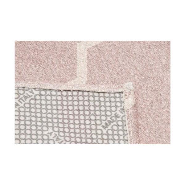 Wytrzymały dywan kuchenny Webtapetti Lattice Sand, 80x130 cm