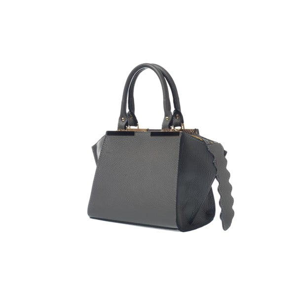 Skórzana torebka Fashion Bag Grey
