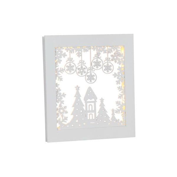 Wisząca   świecąca dekoracja Best Season Frame Snowflake