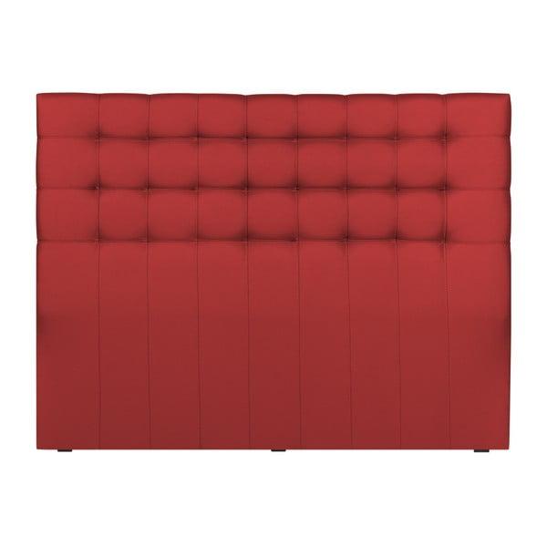 Czerwony zagłówek łóżka Windsor & Co Sofas Deimos, 160x120 cm