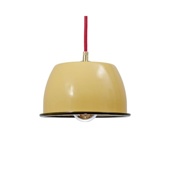 Lampa sufitowa Emailleleuchte 05 Yellow/Red