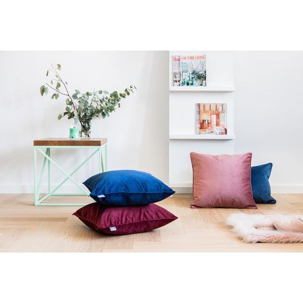 Różowa poszewka na poduszkę WeLoveBeds Heard Wood, 50x50 cm