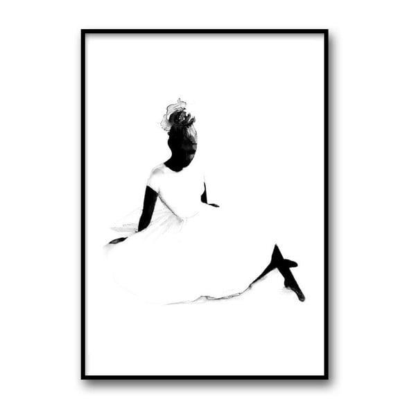 Plakat autorski Ballerina, A4