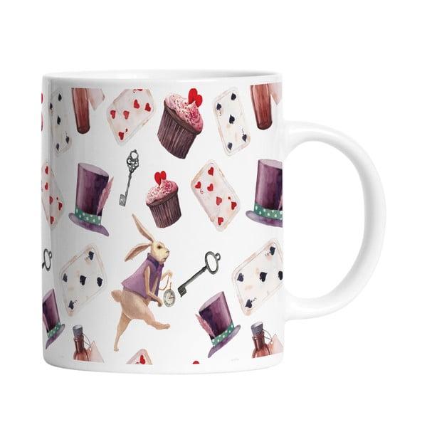 Ceramiczny kubek Alice in Wonderland, 330 ml