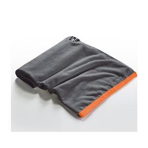 Ręcznik plażowy Agi Moe 80x160 cm, szary