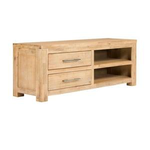 Stolik pod TV z drewna akacjowego SOB Seaside