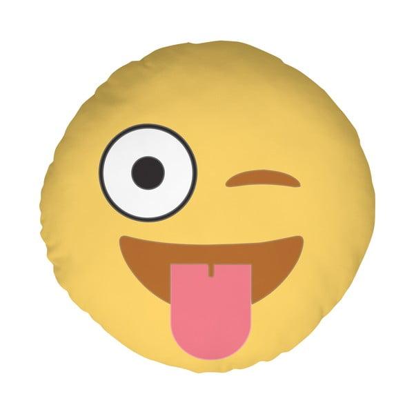 Poduszka Emoji Tongue, 39 cm