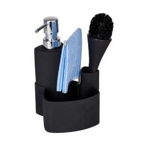Czarny zestaw do mycia naczyń Wenko Empire