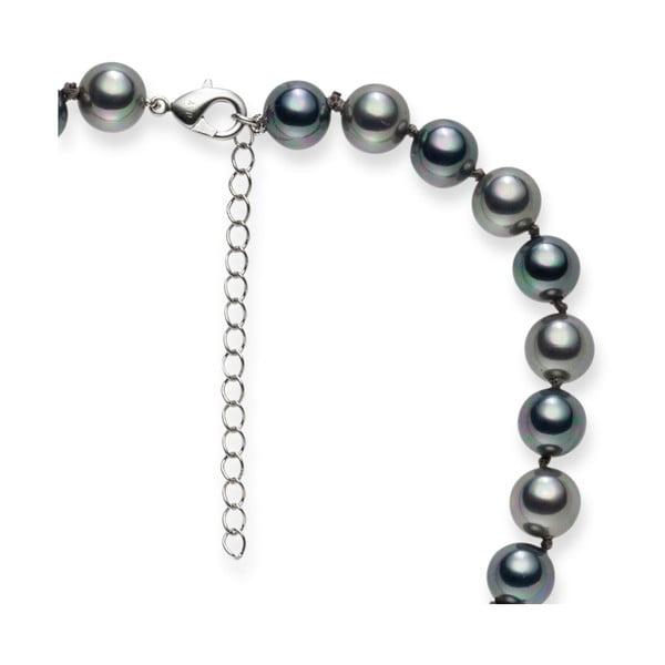 Naszyjnik z pereł Mystic Silver, 42 cm