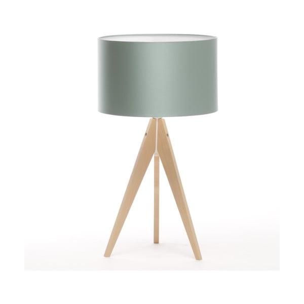 Lampa stołowa Artist Light Green Blue/Natural Birch, 65 cm