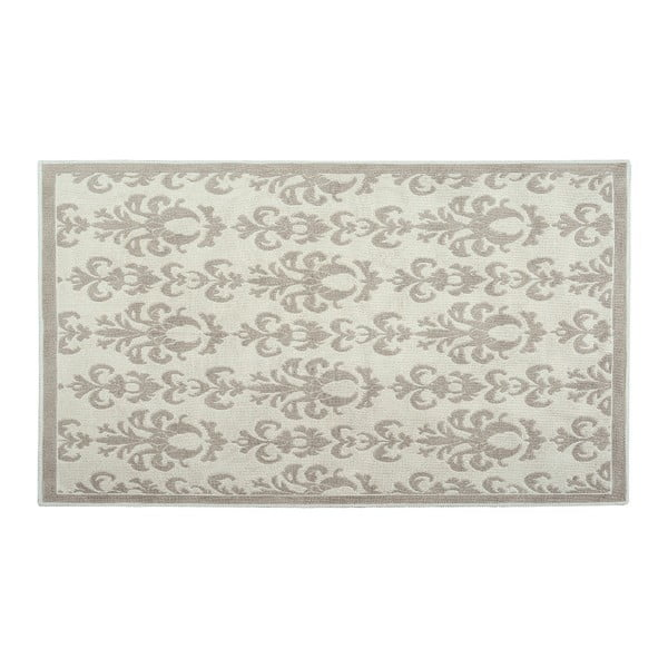 Dywan bawełniany Baroco 120x180 cm, kremowy