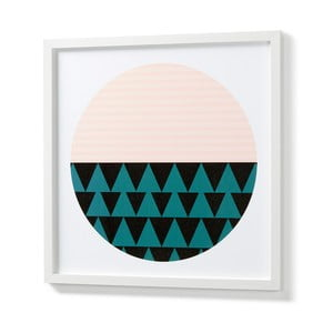 Obraz w białej ramie La Forma Blanks Duo