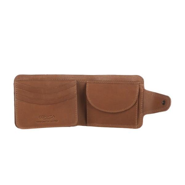 Skórzany portfel Art Chestnut