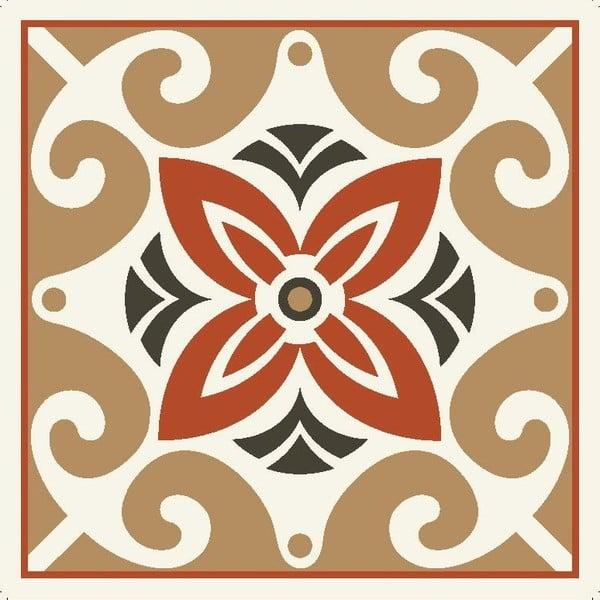Zestaw 2 mat stołowych Brown Decor, 20x20 cm