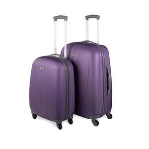 Zestaw 2 walizek Tempo, fiolet