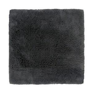 Czarny dywanik łazienkowy Aquanova Alma, 60x60 cm