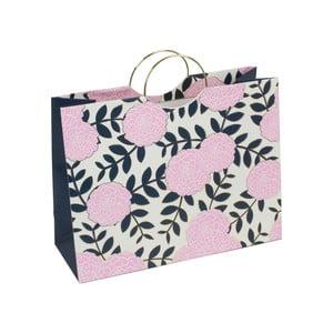 Różowa torba prezentowa Tri-Coastal Design Design Navy Blush