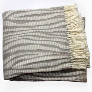 Koc Zebra Grey, 140x180 cm
