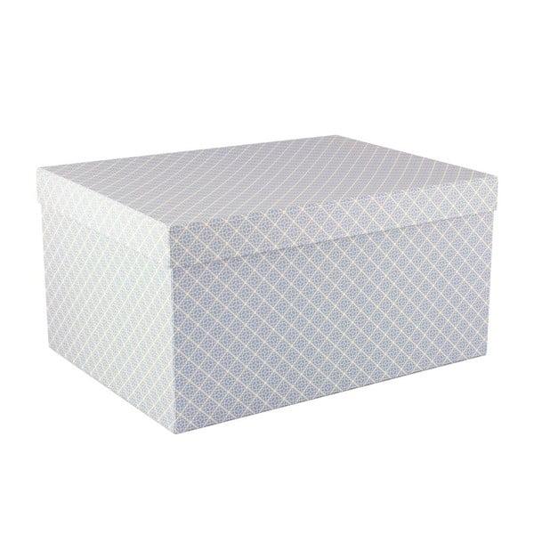 Komplet 5 pudełek Storage Blue