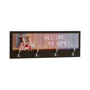 Wieszak Welcome Home Black