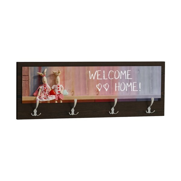 Wieszak Welcome Home Black
