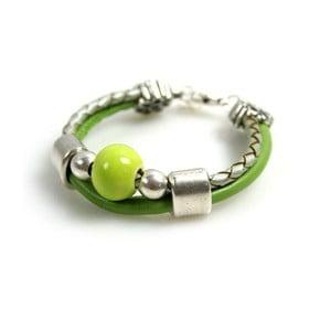 Bransoletka Ring Stone, zielona