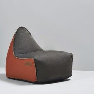 Worek do siedzenia RETROit Indoor Brown/Orange