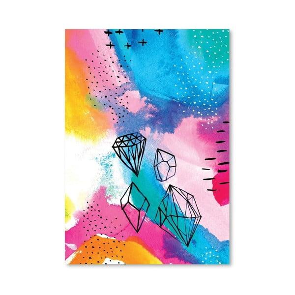 Plakat Shine Bright No.1, 30x42 cm