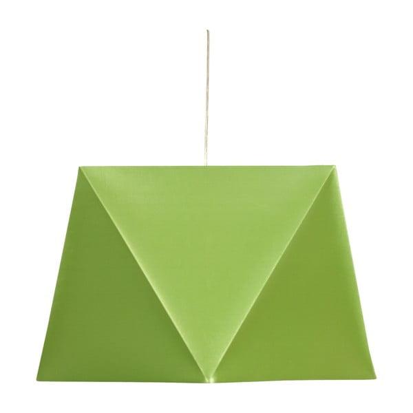 Lampa sufitowa Hexagen, zielona