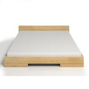 Łóżko 2-osobowe z drewna sosnowego SKANDICA Spectrum, 140x200 cm