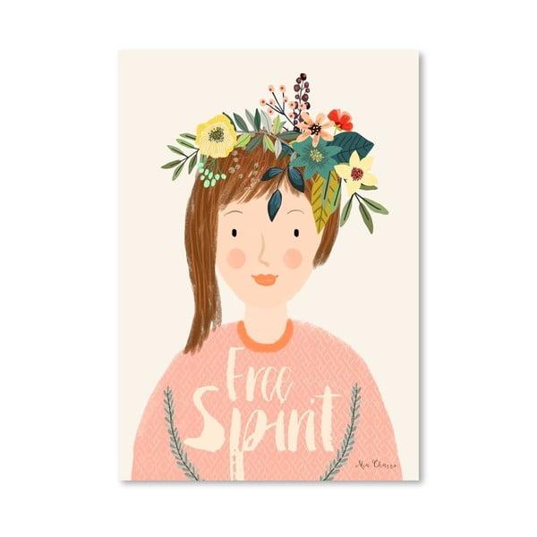 Plakat (projekt: Mia Charro) - Free Spirit