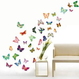 Naklejka ścienna Wesołe motyle