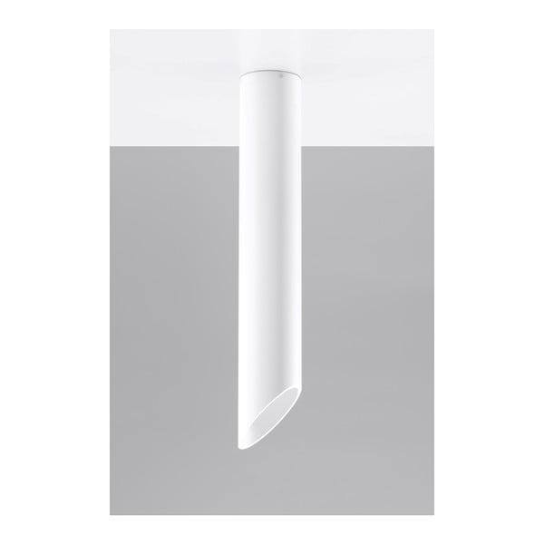 Biała lampa sufitowa Nice Lamps Nixon, długość 60 cm