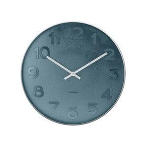 Niebieski zegar Present Time Mr. Blue, mały