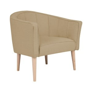 Beżowy fotel Kooko Home Piri