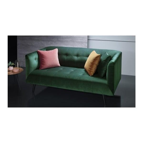 Zielona sofa 3-osobowa Bobochic Paris Paris