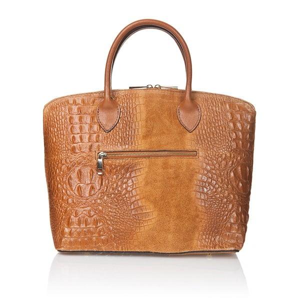 Koniakowa torebka zamszowa Giorgio Costa Candace