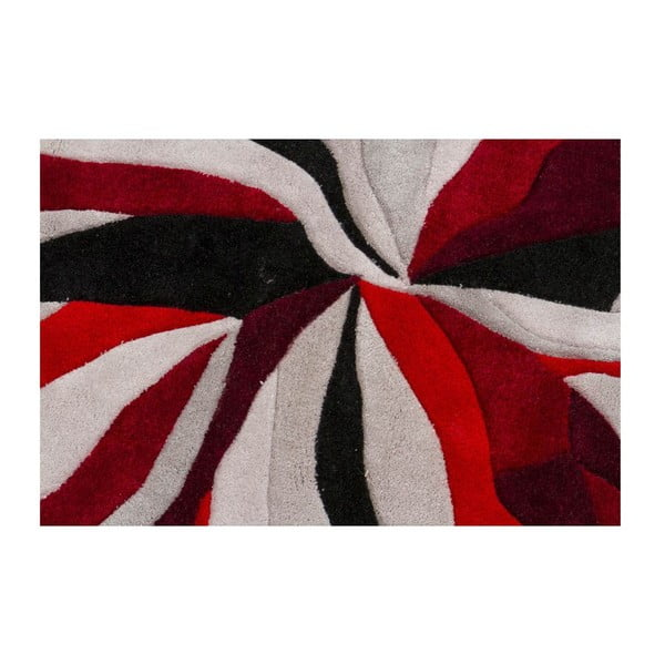 Dywan Splinter Red, 160x220 cm