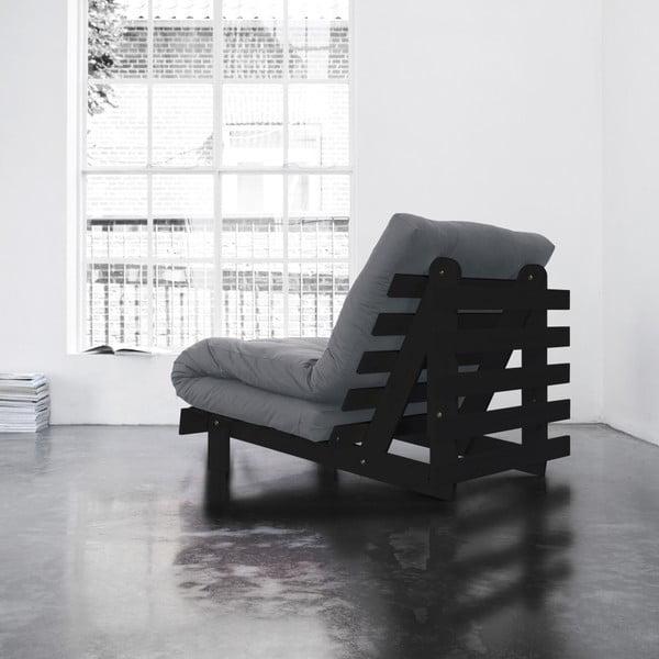 Fotel rozkładany Karup Roots Wenge/Gris