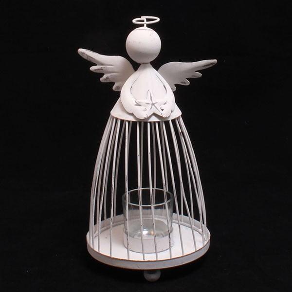 Świecznik z aniołem Dakls