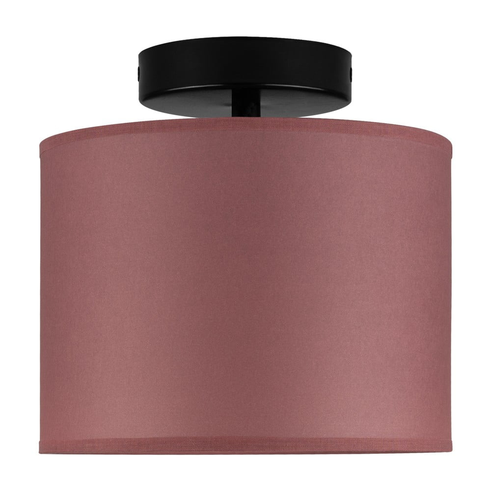 Burgundowa lampa sufitowa Sotto Luce Taiko