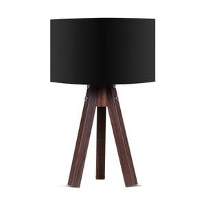 Lampa stołowa z czarnym abażurem Kate Louise Kahve