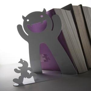 Podpórka do książek Mr. P Bookend, biała