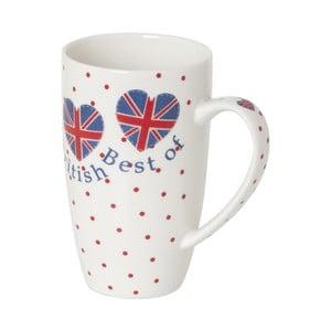 Kubek z porcelany kostnej Sabichi Best of British, 380 ml