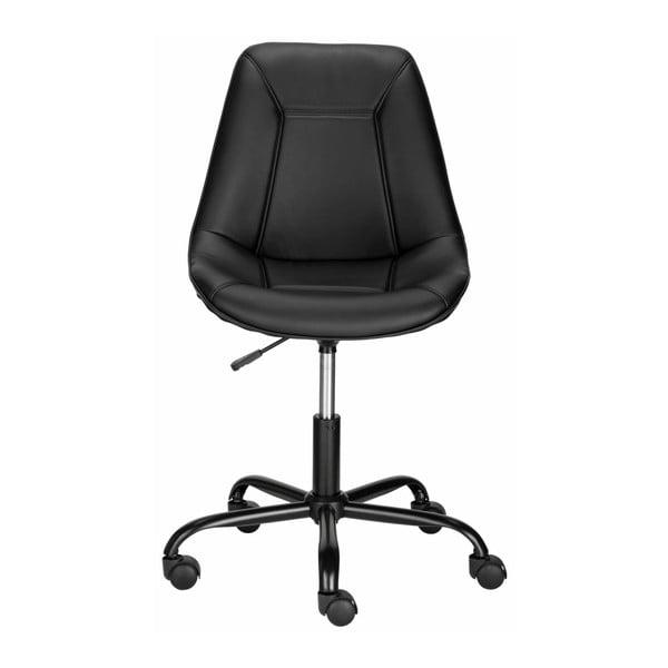 Czarny fotel biurowy Støraa Carl