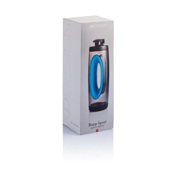 Niebieska butelka sportowa XD Design Bopp Sport,550ml