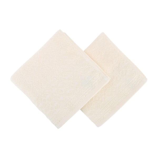 Zestaw 2 ręczników bawełnianych Terry, 50x90 cm