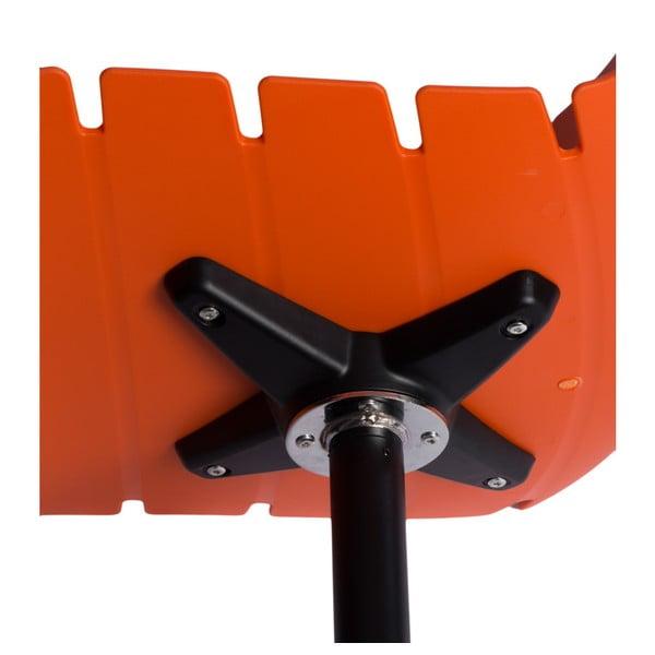 Zestaw 2 pomarańczowych krzeseł D2 Techno One